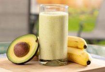 Авокадо-банана смути