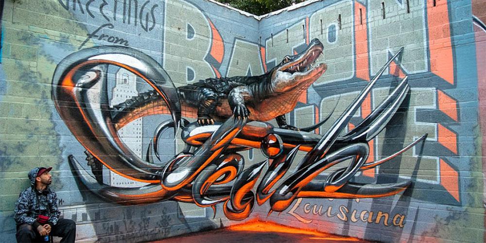 3D графити