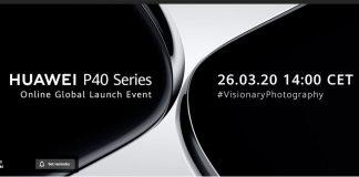 Huawei P40 lounch