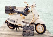 Vespa и Dior