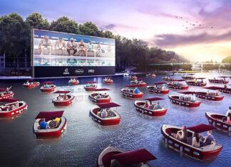 """""""cinéma sur l'eau"""""""