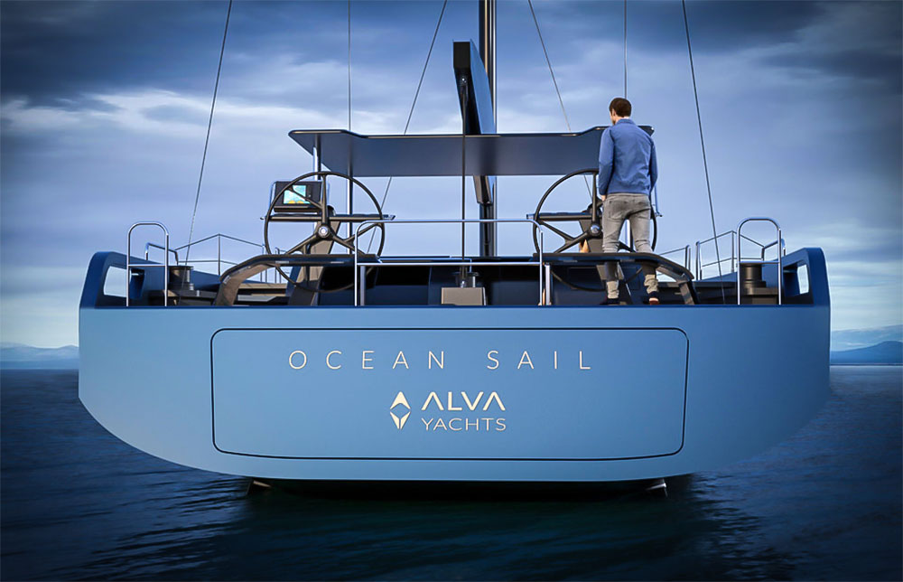 Alva Yacht Ocean Sail 82